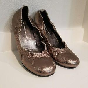 Marc Jacobs Scallop Flats Size 37